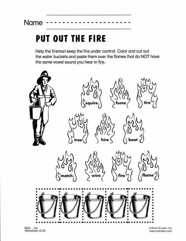 ire - Free Phonics Worksheet Phonics lesson plans Pinterest - phonics worksheet