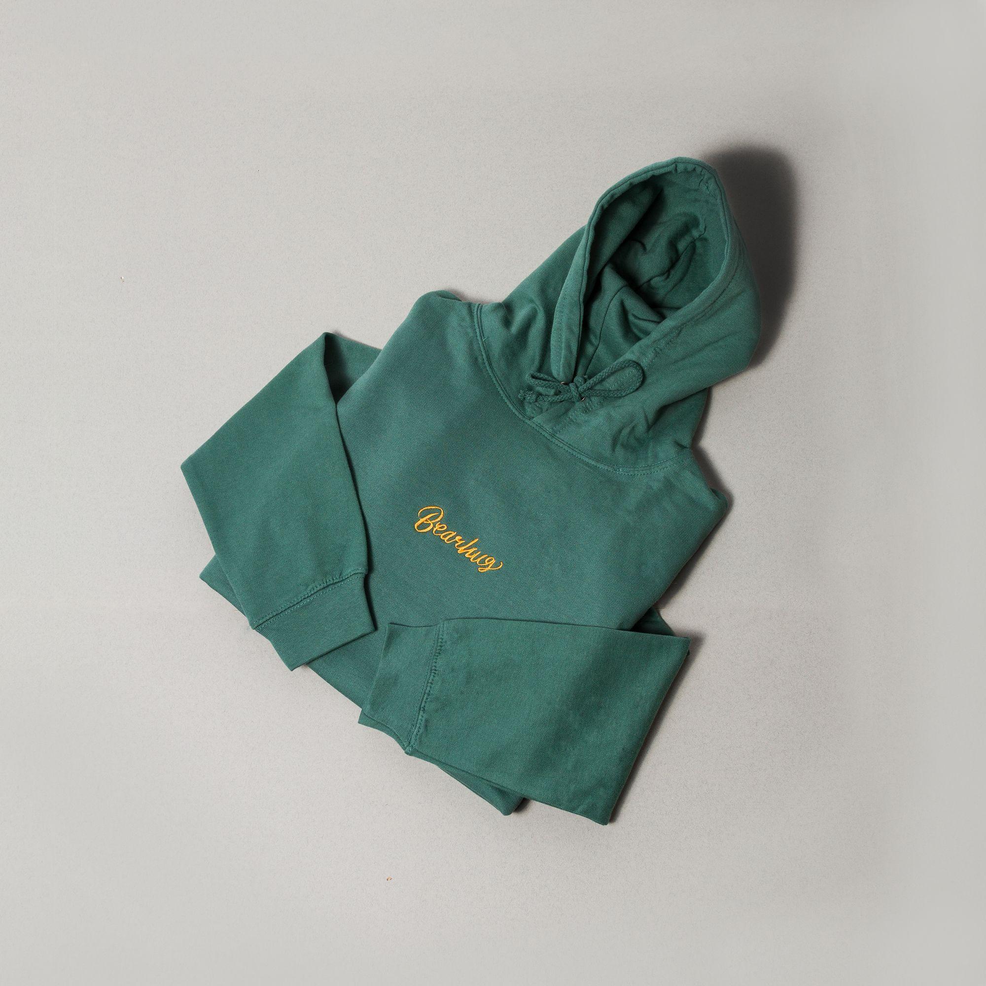 THE BEARHUG (CO.) LTD 'Script' Embroidered Logo Hoodie