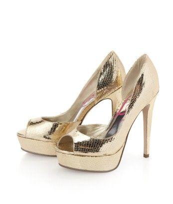 Think these will match my metallic nail polish? :)