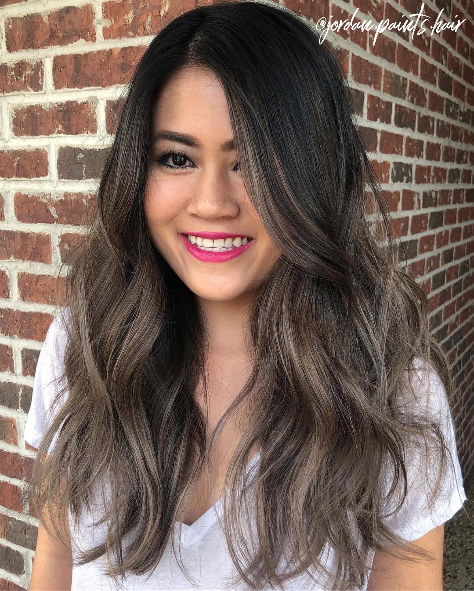 Ash Brown Asian Hair Hair Color Asian Asian Hair Hair