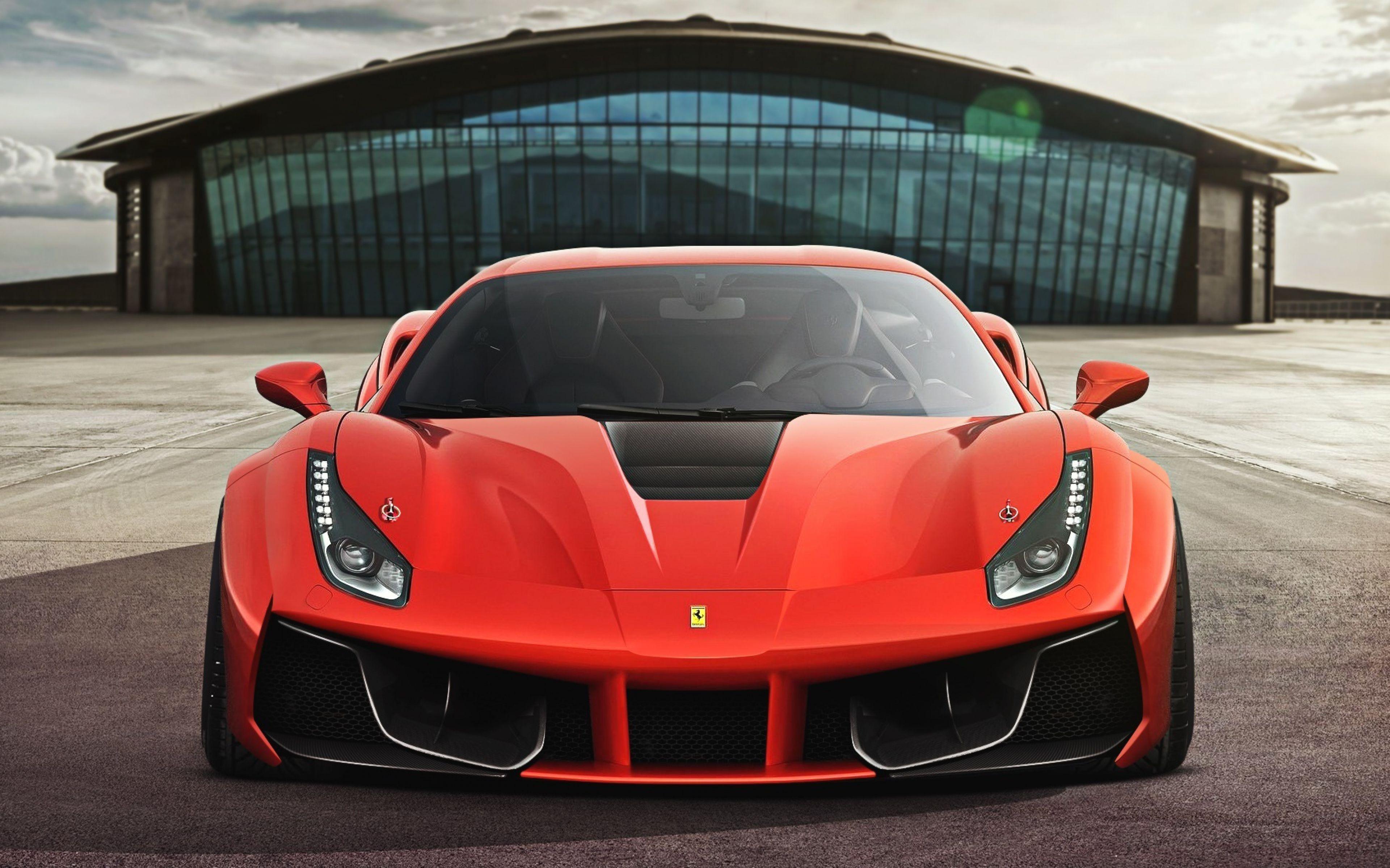 25 Wallpapers [4K] Autos (Parte 1) Ferrari, Ferrari 488