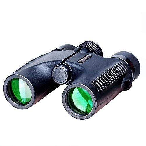 USCAMEL Powerful Compact 10x26 HD Binoculars Professional Wide Angle Vision  Black *** To view further for this item, visit the image link.