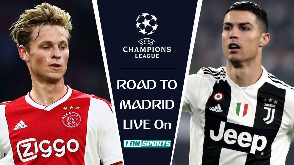 Ajax vs Juventus Champions League quarterfinal 10 Apr