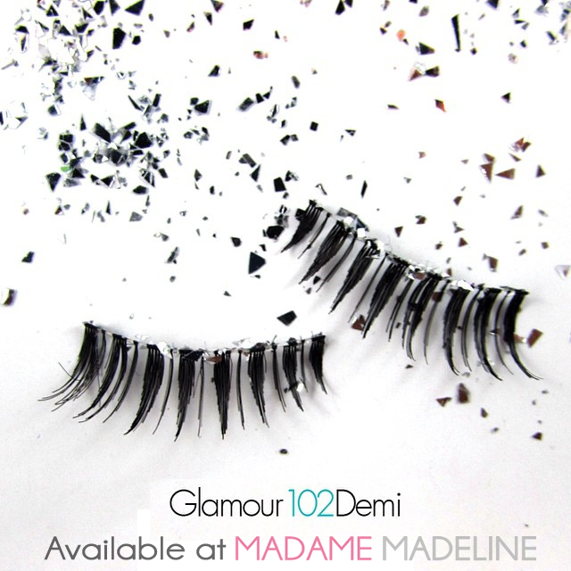 00da63dfcac Ardell Glamour Demi 102 - also know as Ardell Fashion Lashes #102 at Madame  Madeline Lashes
