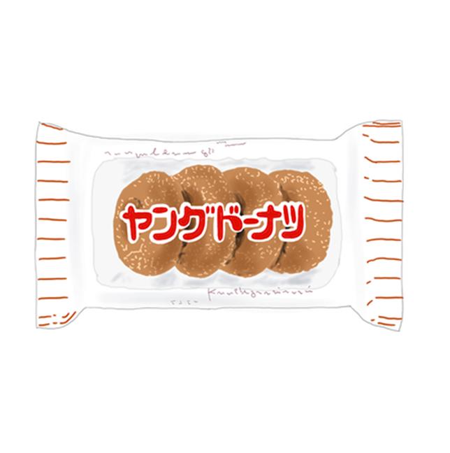発売から30年 駄菓子界の人気者 ヤングドーナツ 駄菓子 ドーナツ 駄菓子屋