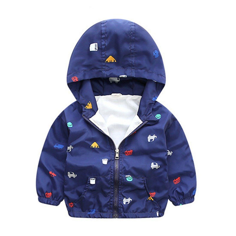 Felds Spring Jacket Boys Girls Kids Outerwear Cute Windbreaker Coats Baby Children Clothing White 5t Ple Kids Spring Jackets Kids Outerwear Girls Jackets Kids [ 1500 x 1500 Pixel ]