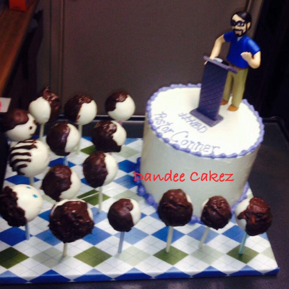 Pastor Cake Custom Birthday Cakes Pinterest Cake Pastor And