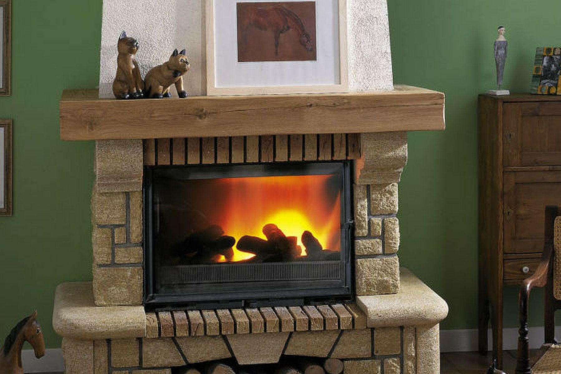 Cheminees Philippe Radiante 800 Fireplace Home