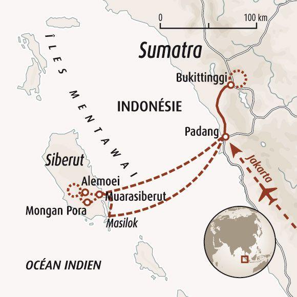 Carte Bali Dans Le Monde.Circuit Carte Indonesie A La Rencontre Des Hommes Fleurs
