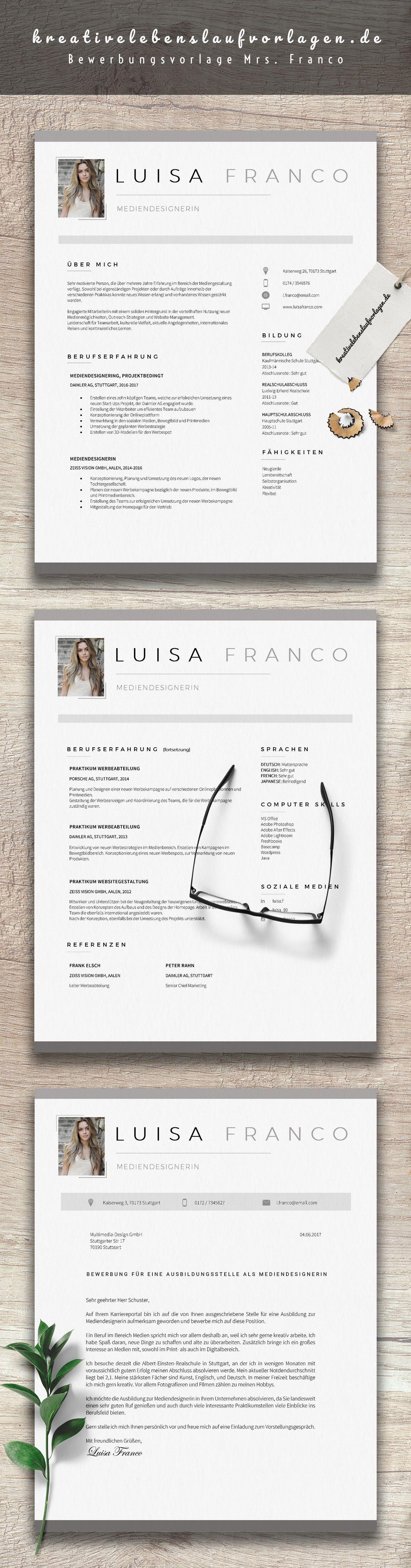 Mrs Franco Lebenslaufvorlagen Bewerbungsvorlagen Lebenslauf Lebenslauf Ideen Lebenslaufvorlage