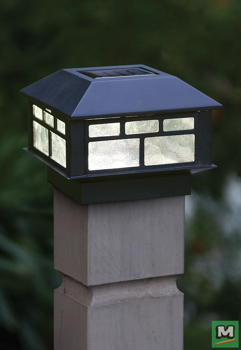 Light The Way With Patriot Lighting Solar Led Sunbury Post Cap Lights Beautifully Crafted From Plastic A Solar Post Caps Solar Lights Landscaping Inspiration