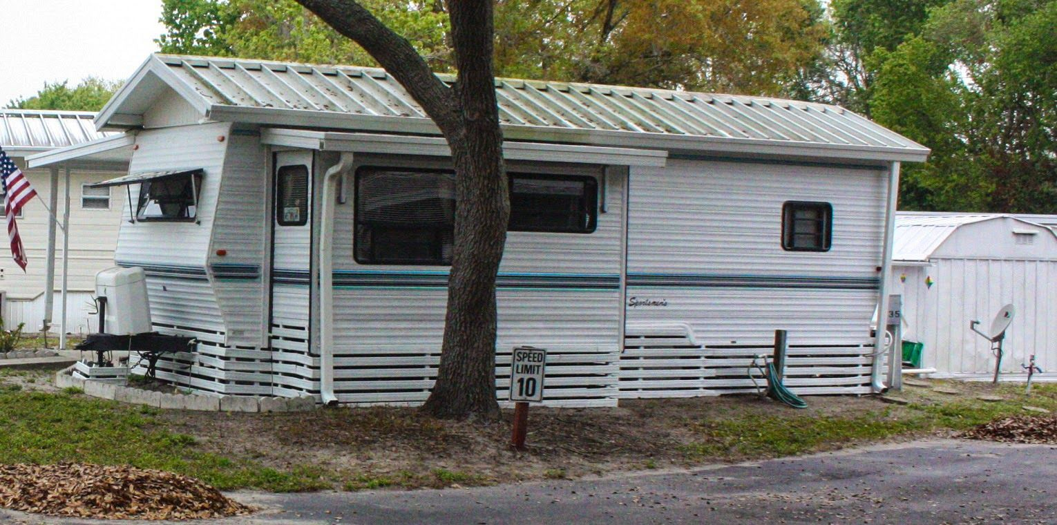 Image Result For Travel Trailer Roof With Porch In 2019