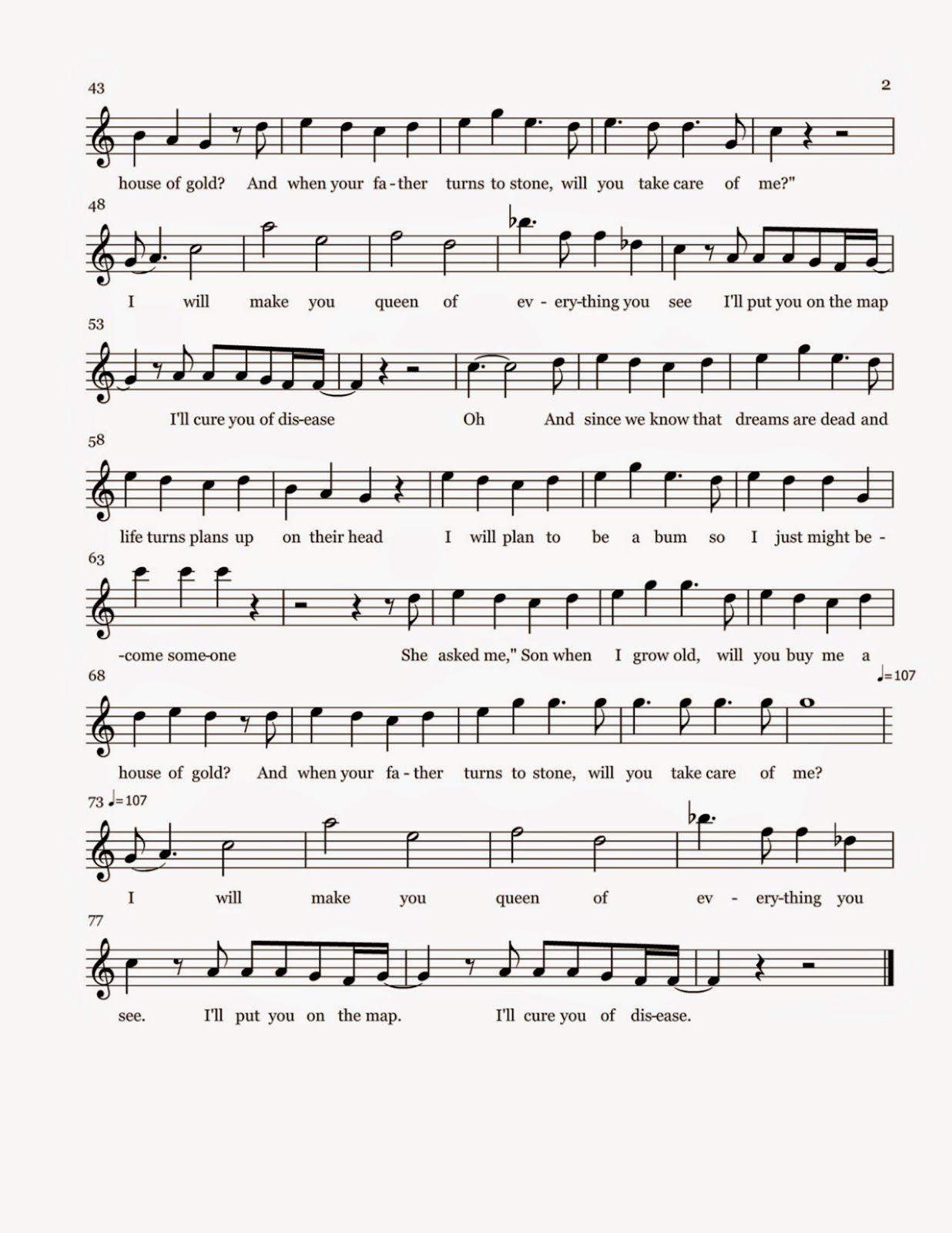 Flute Sheet Music Blank Space Sheet Music Sheet Music Flute