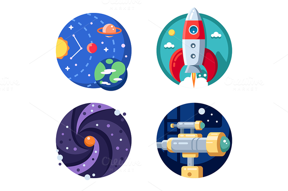 Solar System Icon Of Line Style Available In Svg Png Eps Ai Icon Fonts Solar System Icon Icon Font
