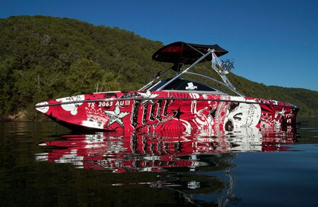 boat wraps portfolio vinyl