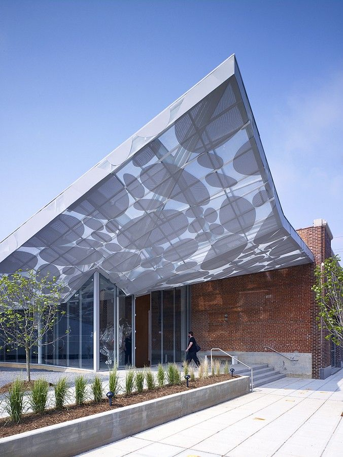 a/n blog . brooks + scarpa's contemporary art museum canopy in