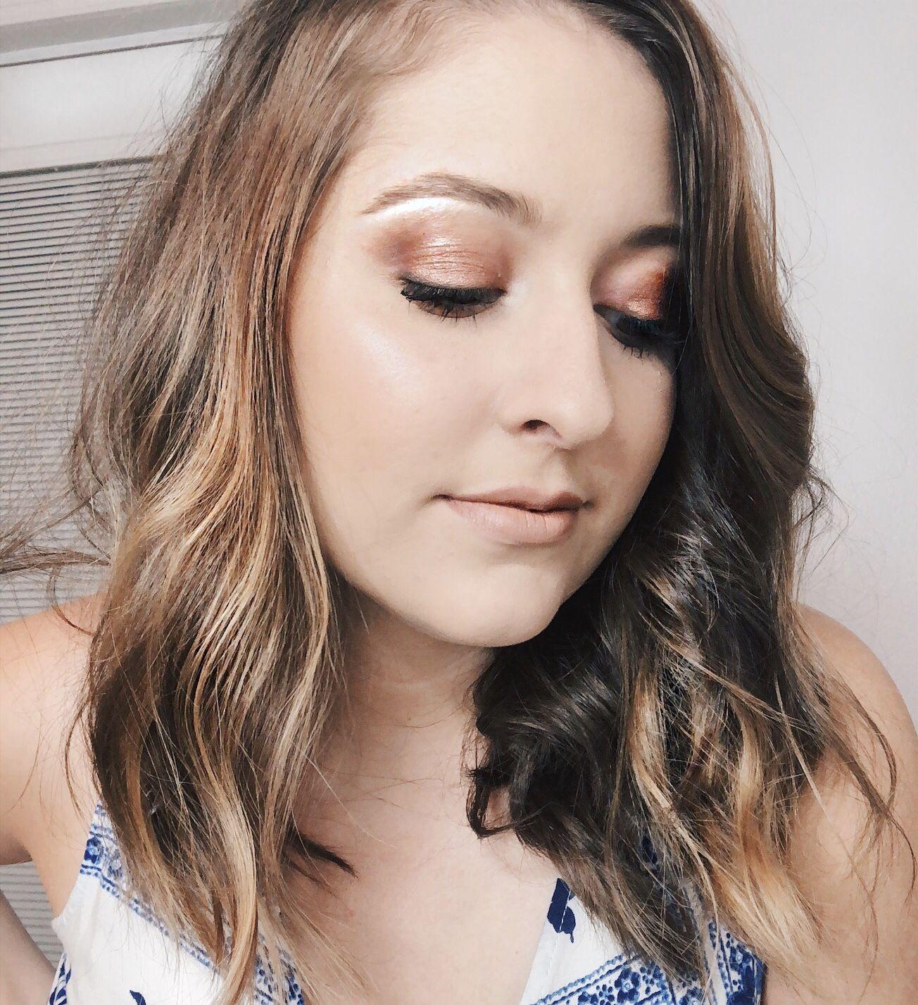 Date Night Makeup Copper Smokey Eye Tutorial Date night