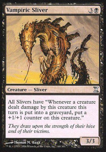 Time Spiral *Flanking* MTG 4x SIDEWINDER SLIVER