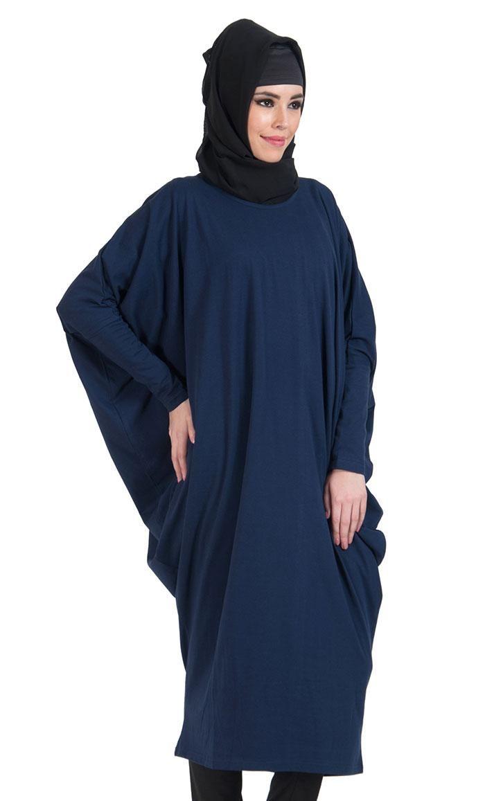 Kilam eastessence batwing extra long basic tunic final sale item