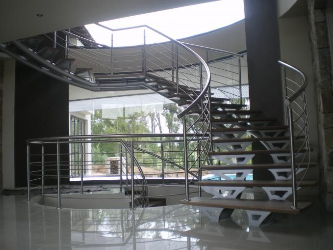 Best Blair Athol – Semi Spiral Steel And Wood Staircase Wood 400 x 300