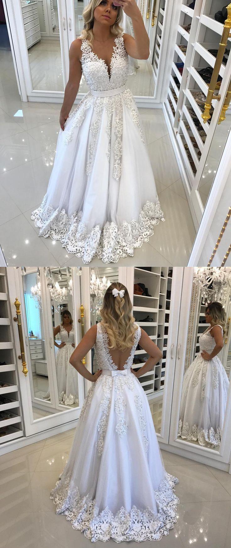 Vestidos de noiva longos e lindos