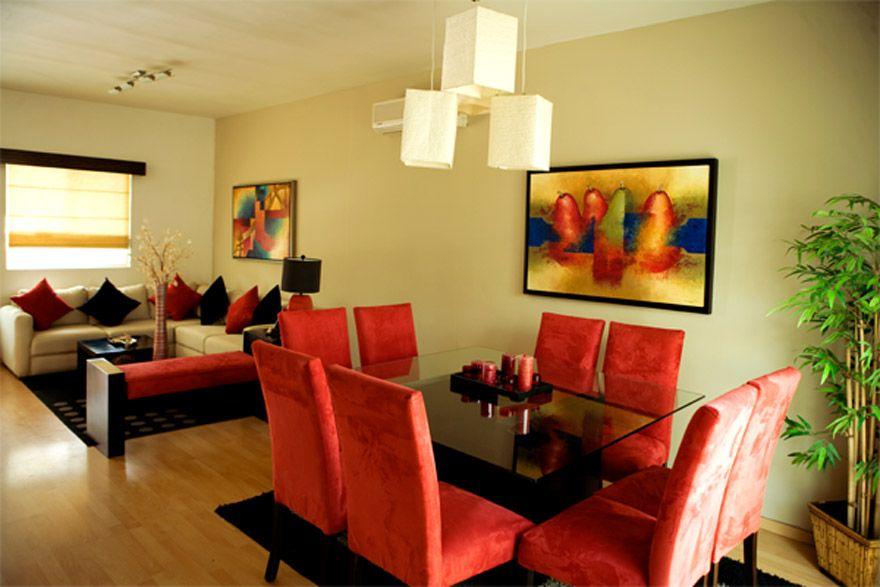 Decorar la sala comedor en espacios peque os es una tarea for Como decorar una sala sencilla