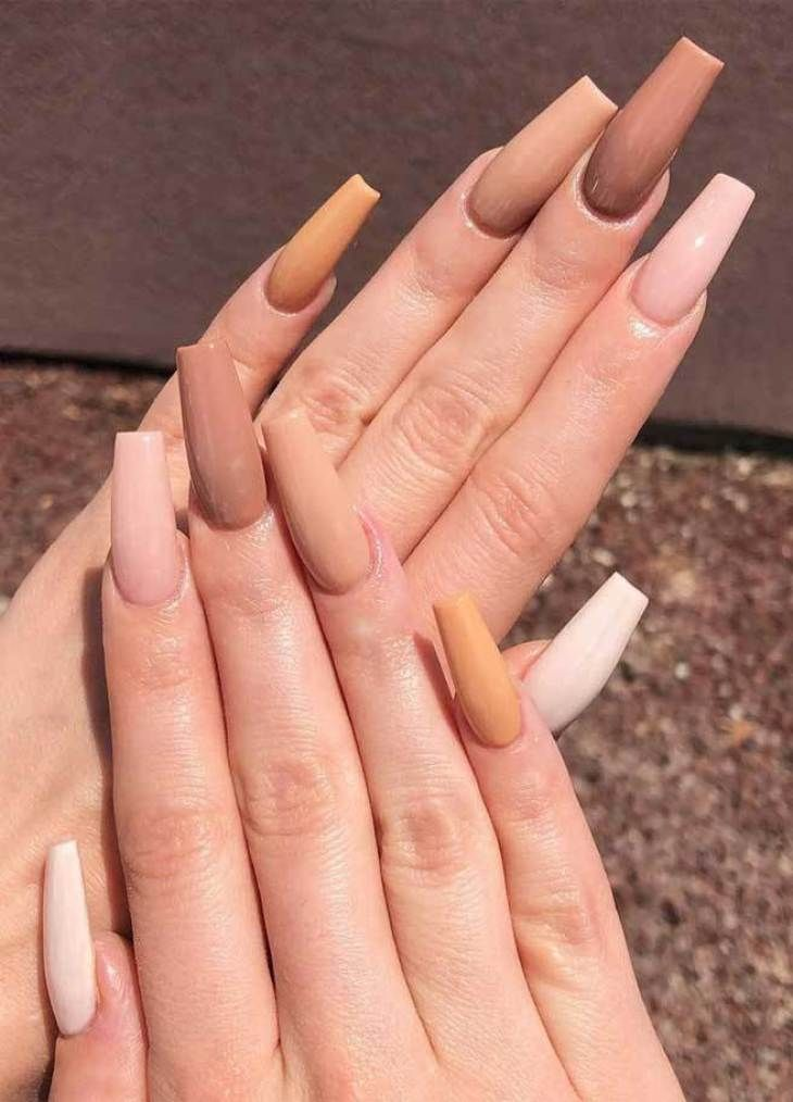 39 Trendy Fall Nails Art Designs Ideas To Look Autumnal Charming Autumn Nail Art Ideas Nails Autumnnail Fall Acrylic Nails Long Acrylic Nails Fire Nails