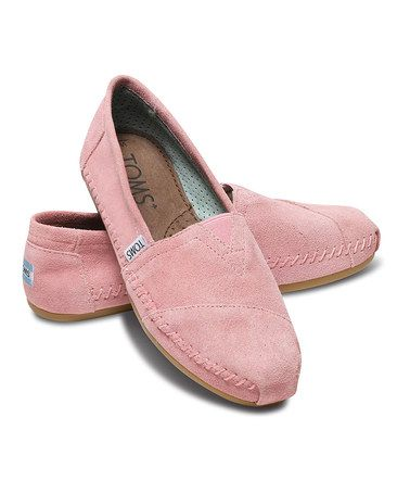 Pale Pink Suede Moccasin - Women