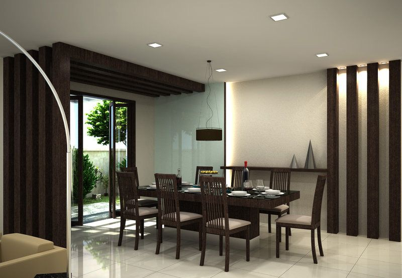 30 modern dining rooms design ideas room ideas dining for Designer dining room suites