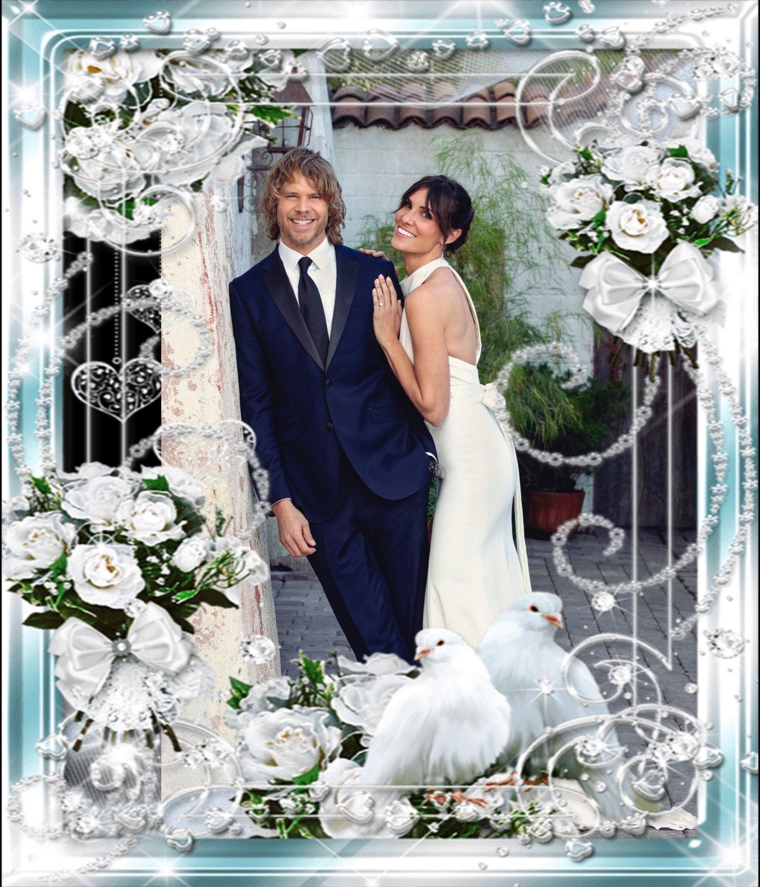 Wedding photo creation of Kensi and Deeks. | Ncis los