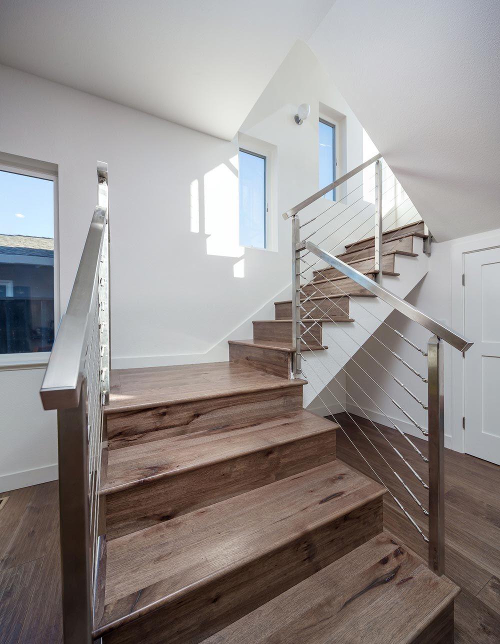 Best Hand Scraped Hickory Stair Treads Hardwood Stair Treads 400 x 300