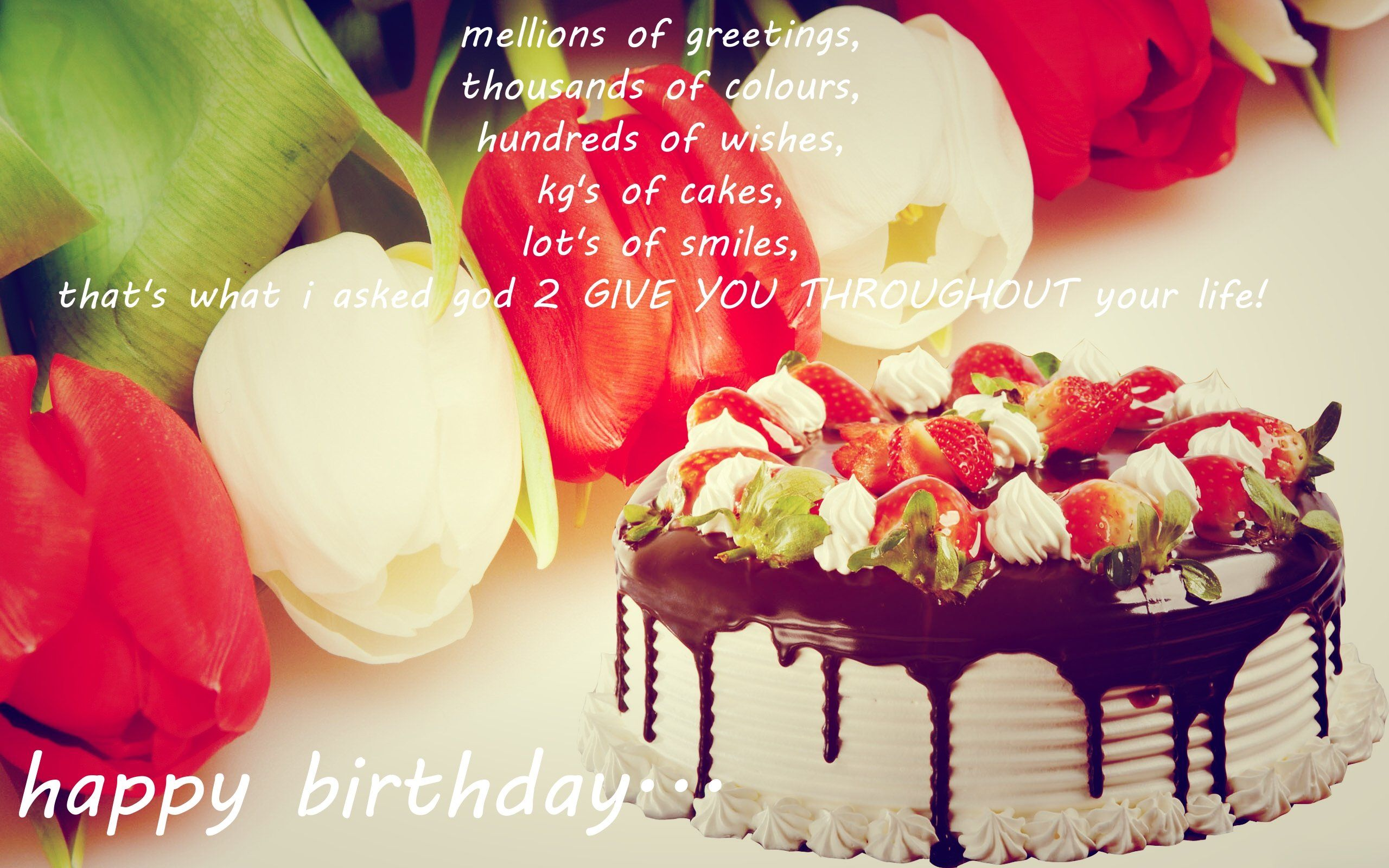 Happy BirthDay WishesQuotesGreetingCakes YouTube. Happy Birthday ...