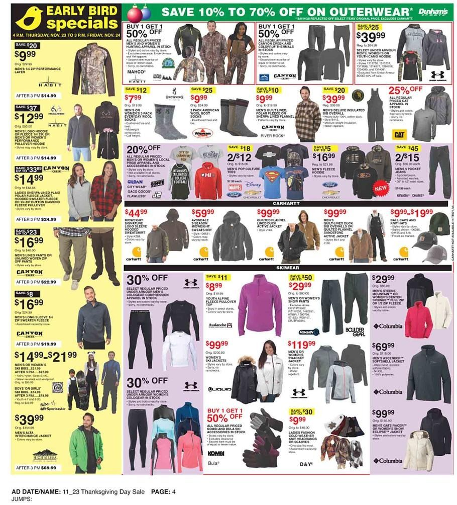 Dunham's Sports Black Friday 2018 Ads and Deals