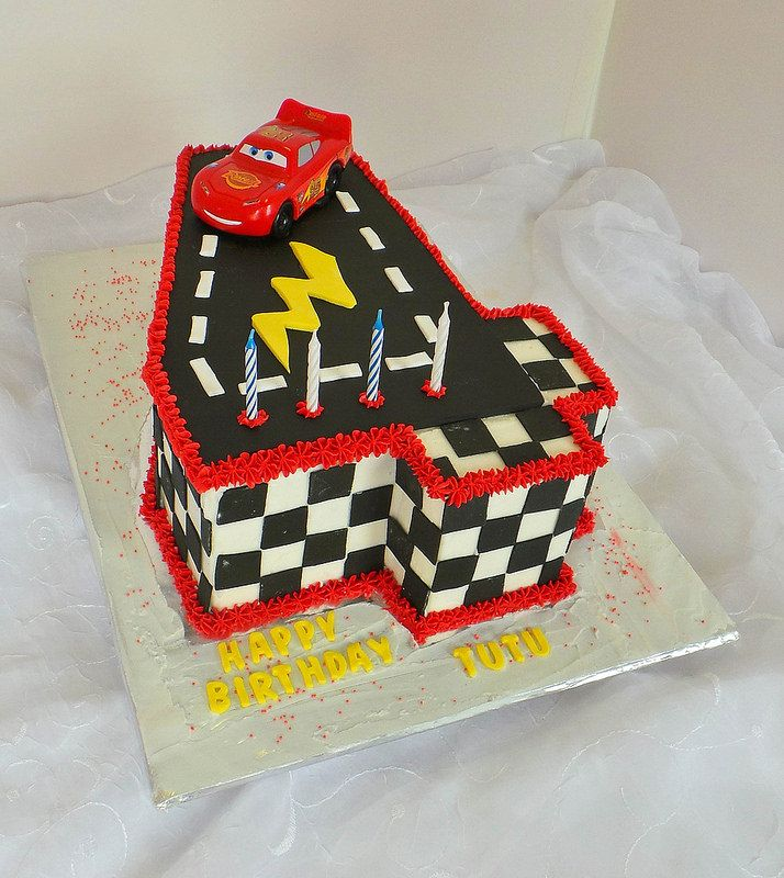 4 Years Cars Themed Birthday Cake Willi Probst Bakery Kids