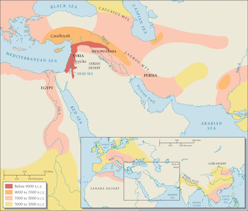 Origin and Spread of Agriculture in the Near East 90005000 BCE