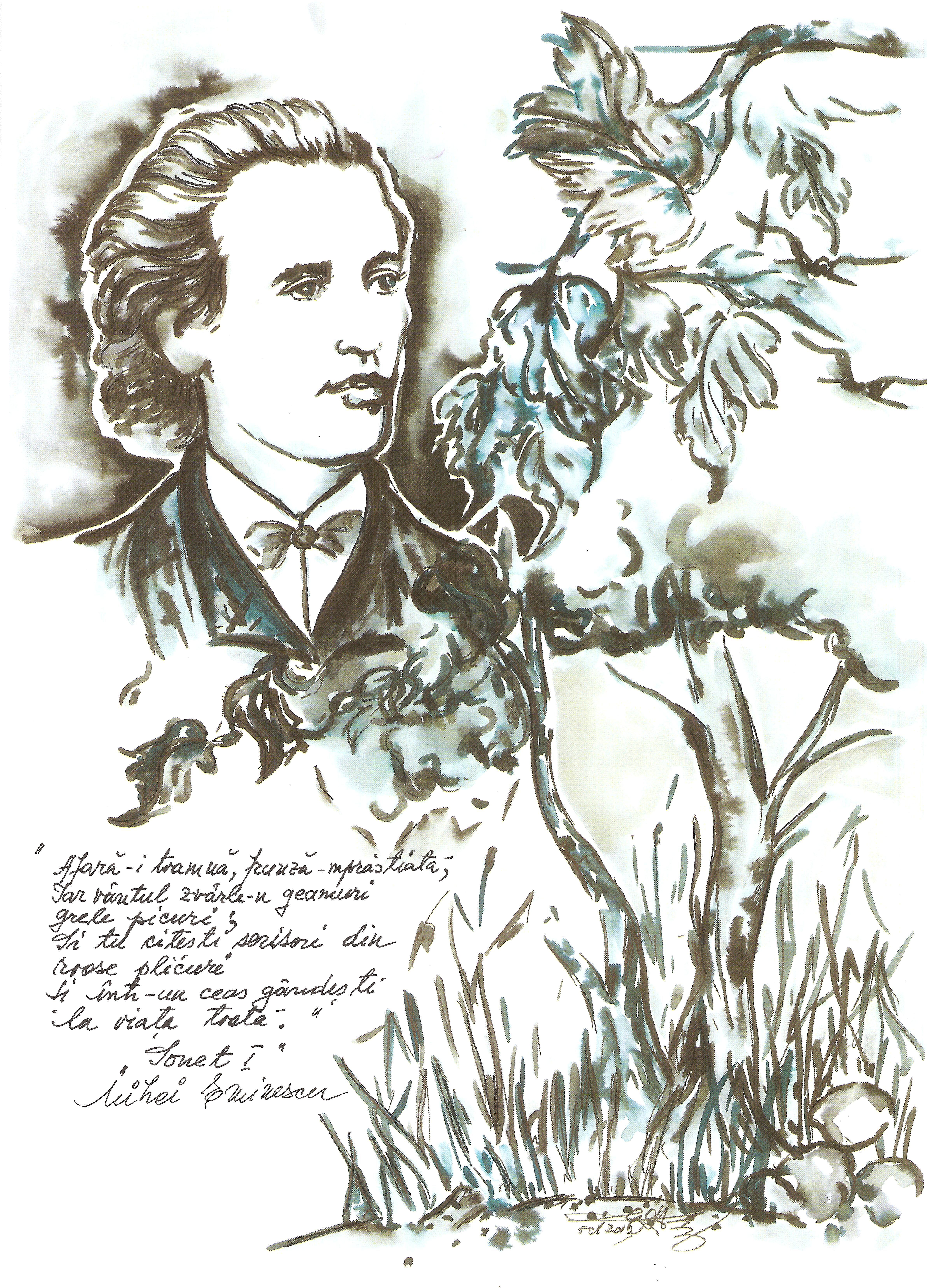 Arhanghelul Poeziei Românești Eminescu Arhanghel Poezii