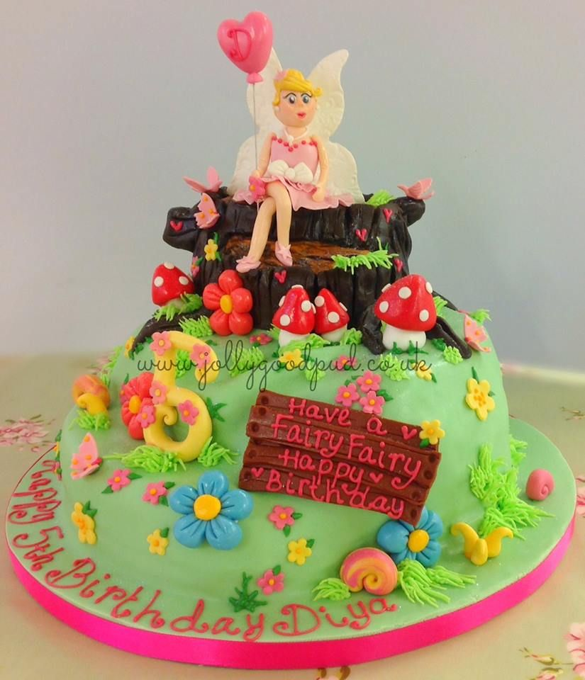 Fairy cake from The Jolly Good Pud Company www ...