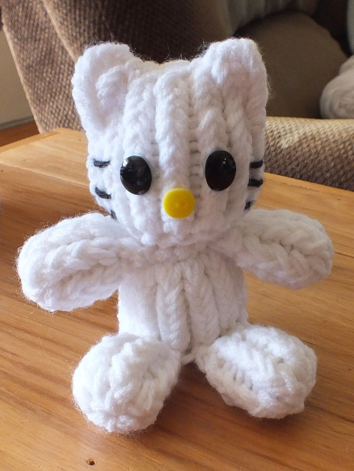 The Loom Muse Creations and Ideas: How to Loom Knit Hello Kitty ...