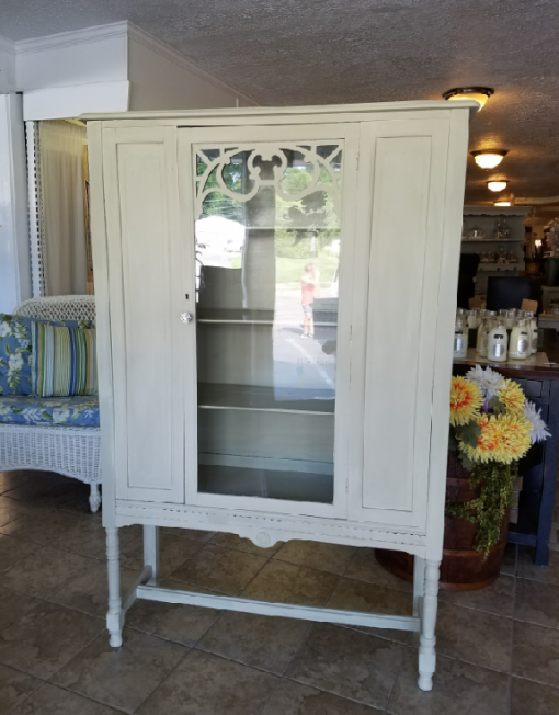 Cream Glass Door Hutch U2013 Belle Patri Home Furnishings U0026 Accessories U201cMake  Your House A