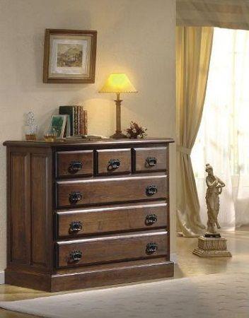 Comoda rustica decoraci n in 2019 comodas de madera - Comodas y cajoneras ...