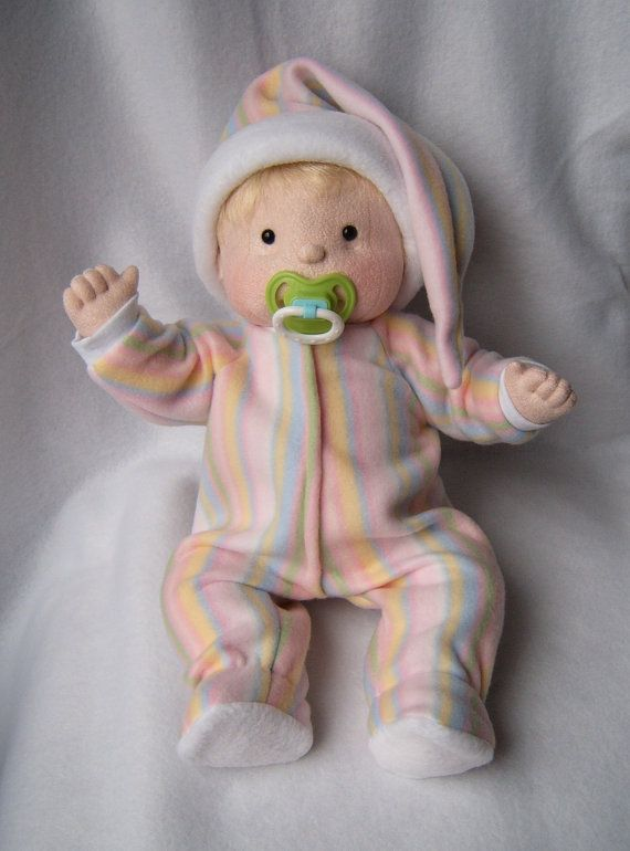 Amanda  A Soft Sculpture Doll by BundlesOfJoys on Etsy, $75.00