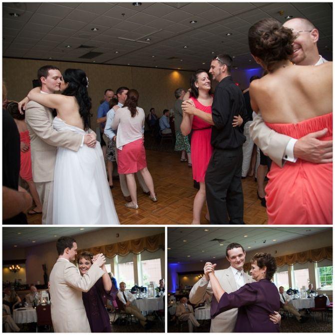 Stephanie Craig Photography »  Massachusetts Wedding Photography, Log Cabin Wedding, Nautical Theme, Mother Son Dance