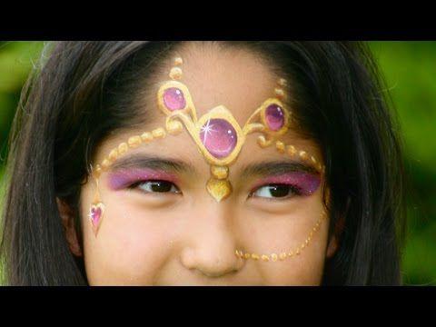 Orientalische Prinzessin Schminken 1001 Nacht Prinzessin
