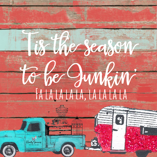 Merry Junkin' Christmas! More vintage, diy, decor, and