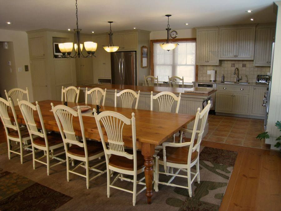 French Country By KateMadisoncom Ft Farm Table With Wheatback - 8ft dining table