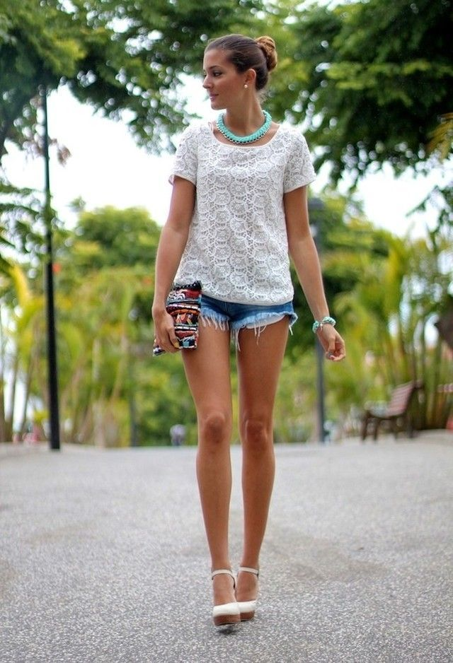 Are Denim Shorts In Style