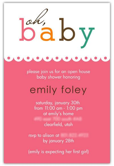 Baby Shower Invite With Images Printable Baby Shower