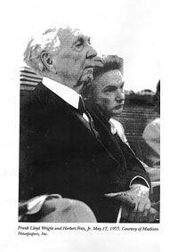 Herb Fritz Ith Frank Lloyd Wright
