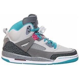 low priced e7fa7 5e6c9 317321-063 Air Jordan Spizike gs miami vice ntrl grey vivid pink cl grey trb