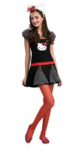 Teen Hello Kitty Halloween Costume  sc 1 st  Pinterest & Teen Hello Kitty Halloween Costume   Costumes   Pinterest   Hello ...